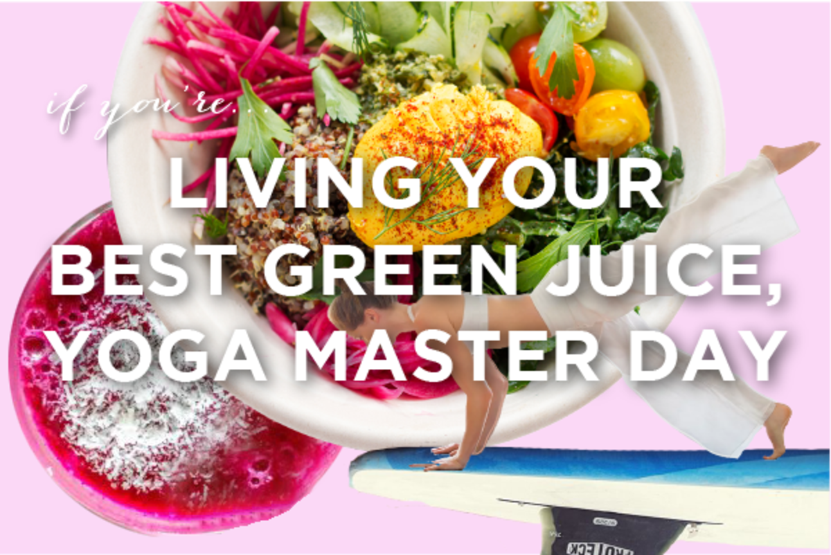 Come for the beach yoga, stay for the green juice.