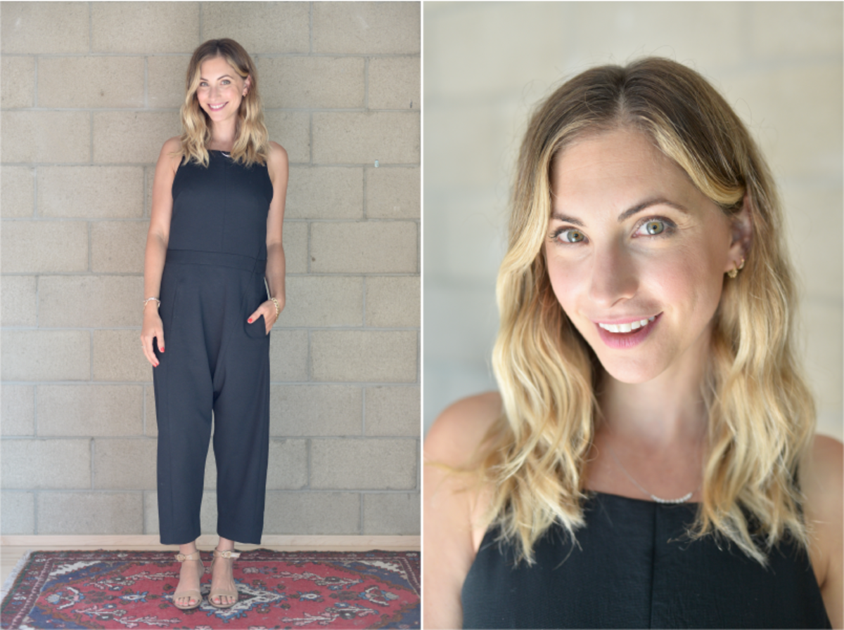 Tuesday: Rachel Comey Jumpsuit (similar here), J.Crew Sandals (similar here)