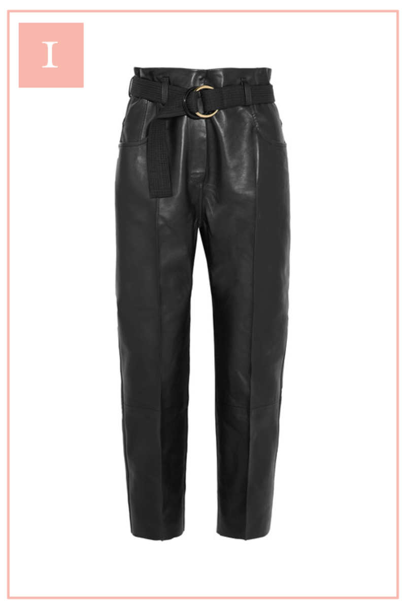 The 10 Pieces I Have My Eye on for Fall _Leather Pants