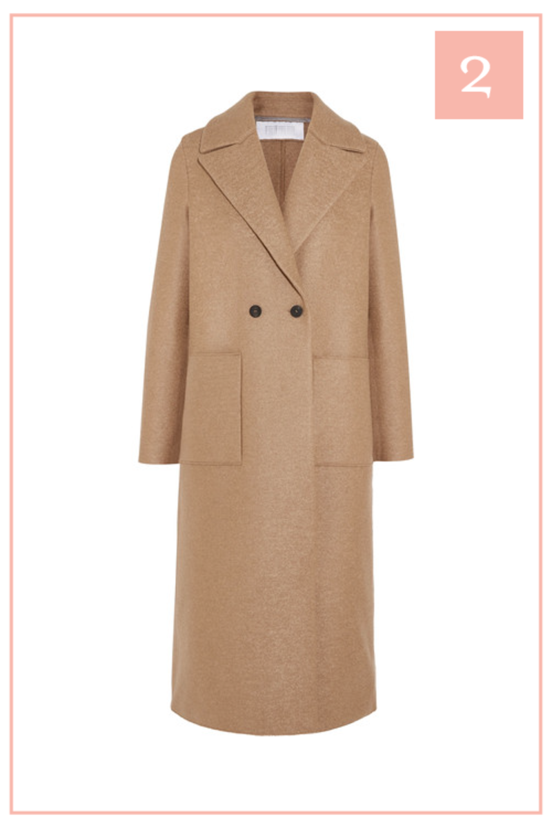The 10 Pieces I Have My Eye on for Fall _Camel Coat