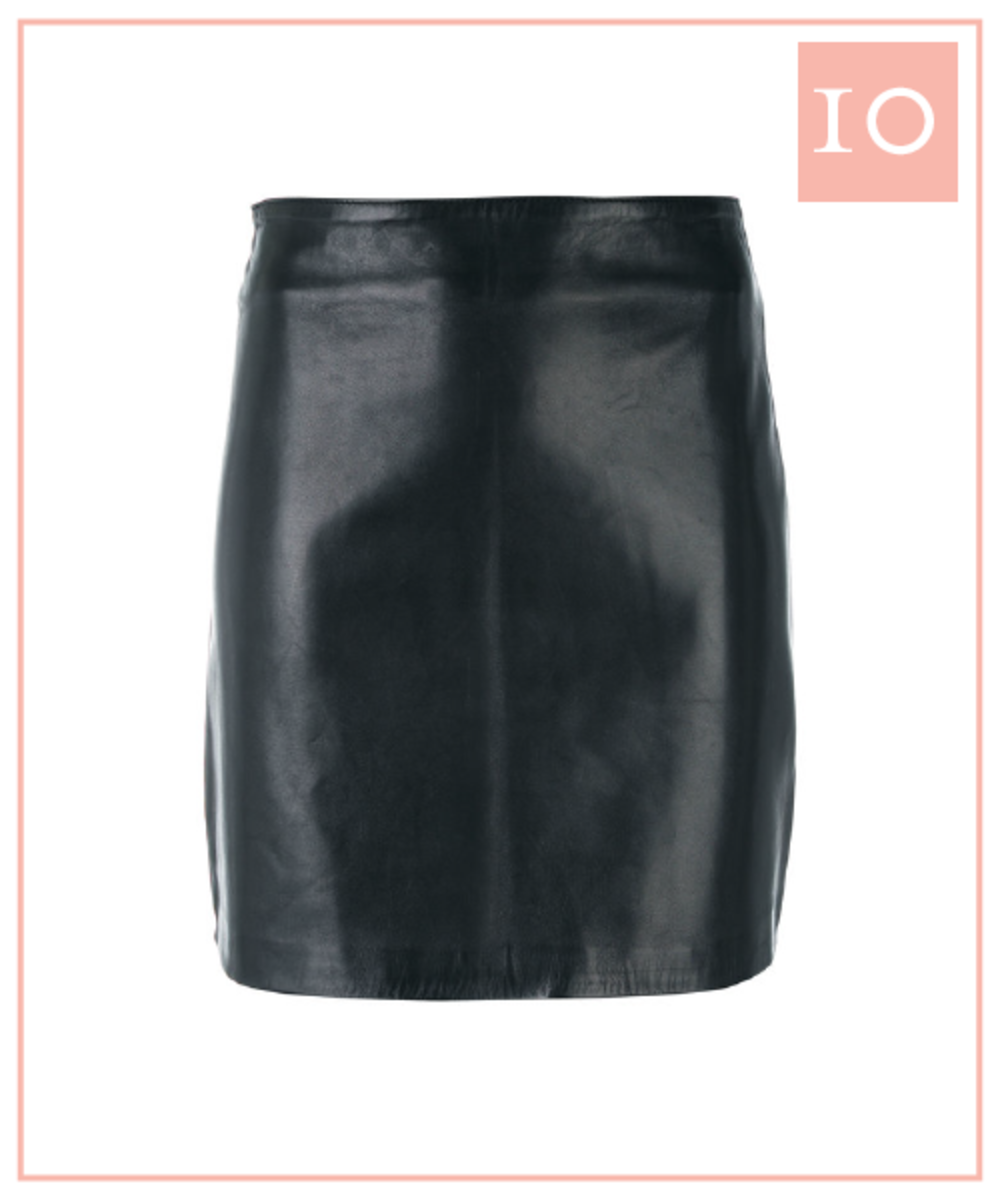 The 10 Pieces I Have My Eye on for Fall _Leather Mini