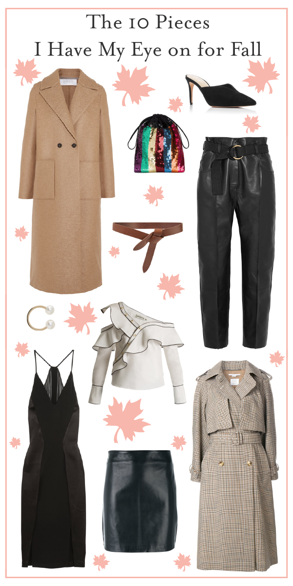 The 10 Pieces I Have My Eye on for Fall _Promo
