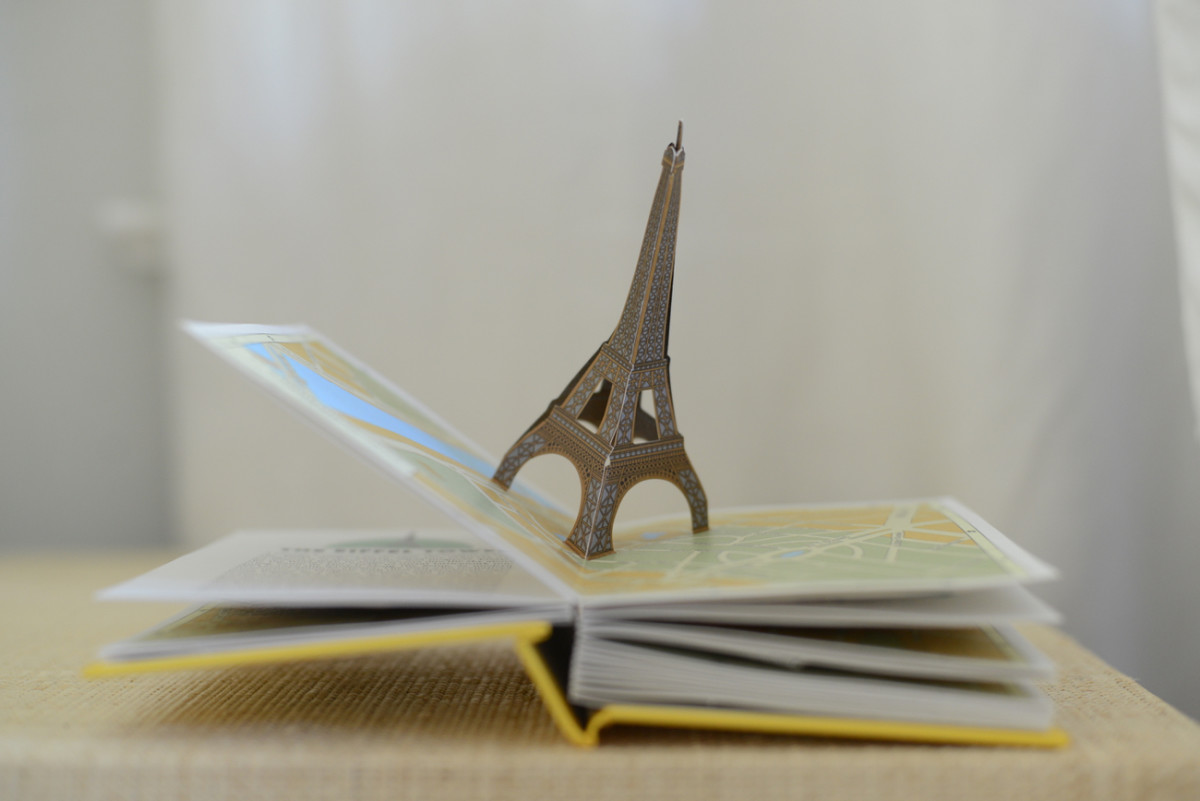 {Sloan's sweet pop-up book from Paris}
