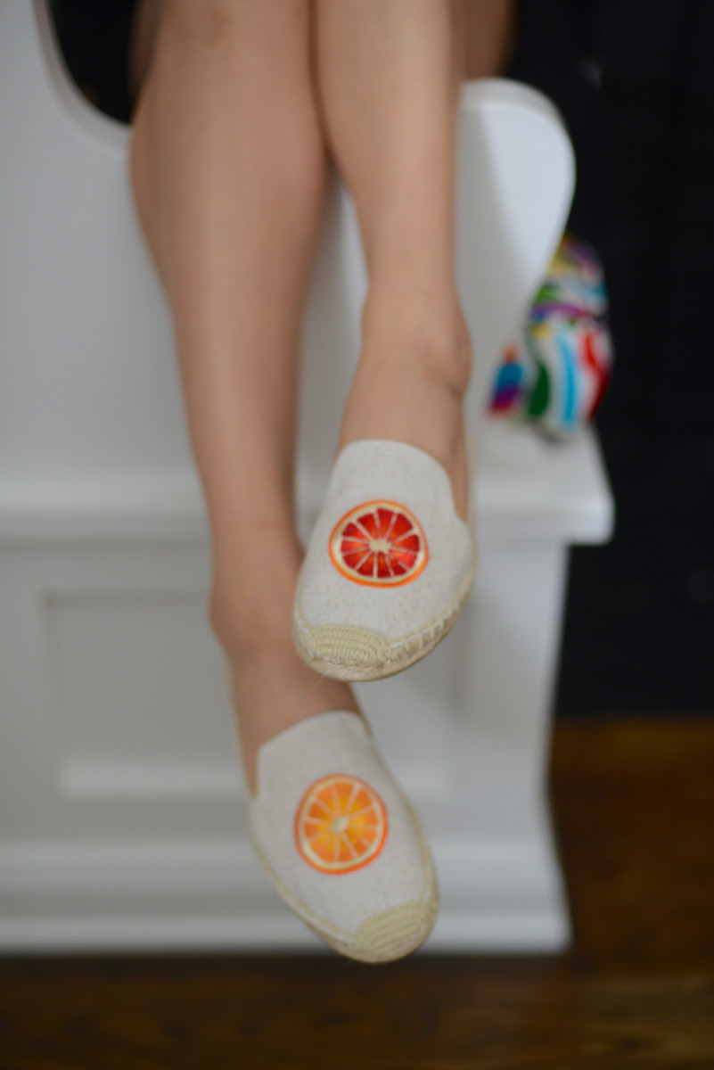 The sweetest summery espadrilles