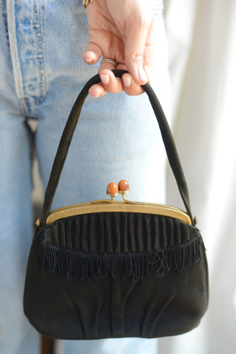 {The best $25 vintage bag from Paris}