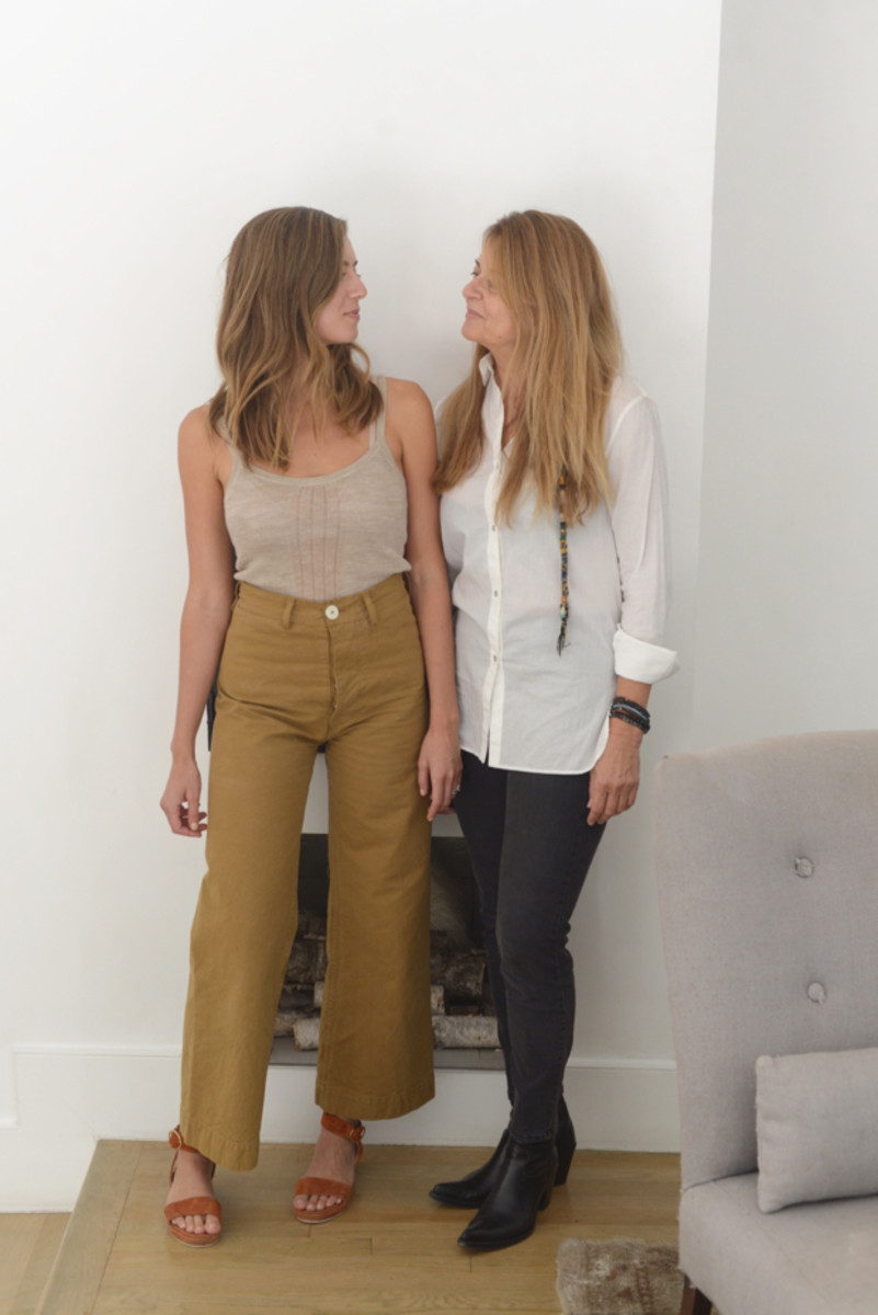 Design tips from the chicest mother daughter duo for Mother daughter house design