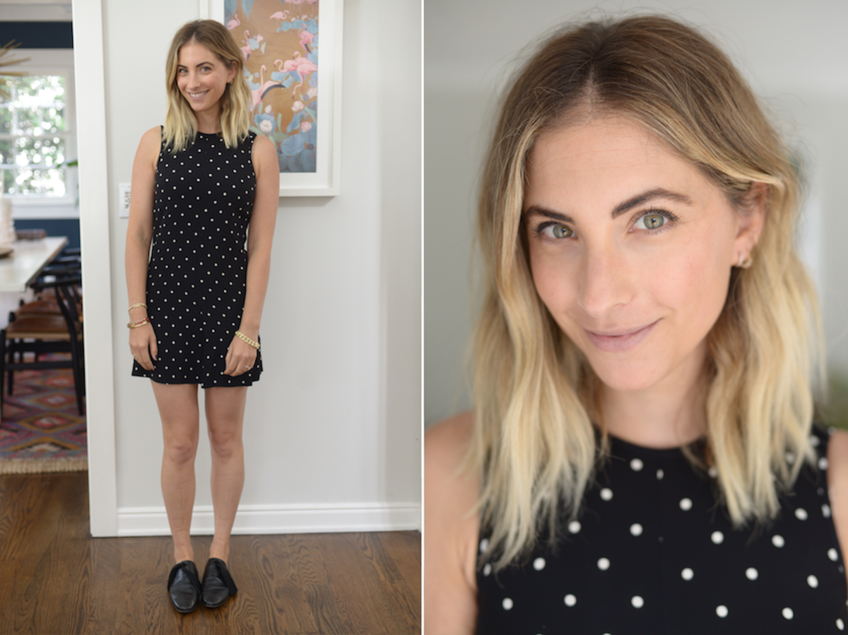 Friday: Bec & Bridge Dress, Edun Loafers