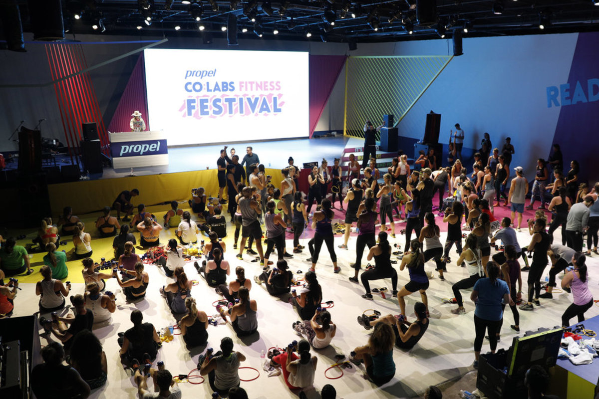 Propel+Co_Labs+Fitness+Festival,+Invisible+North,+Pepsico,+Workout