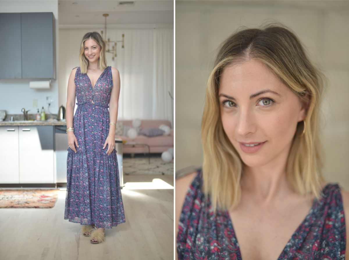 Friday: Ulla Johnson Dress (similar here), Zara Sandals (similar here), Laura Mercier 'Vibe' Lipstick