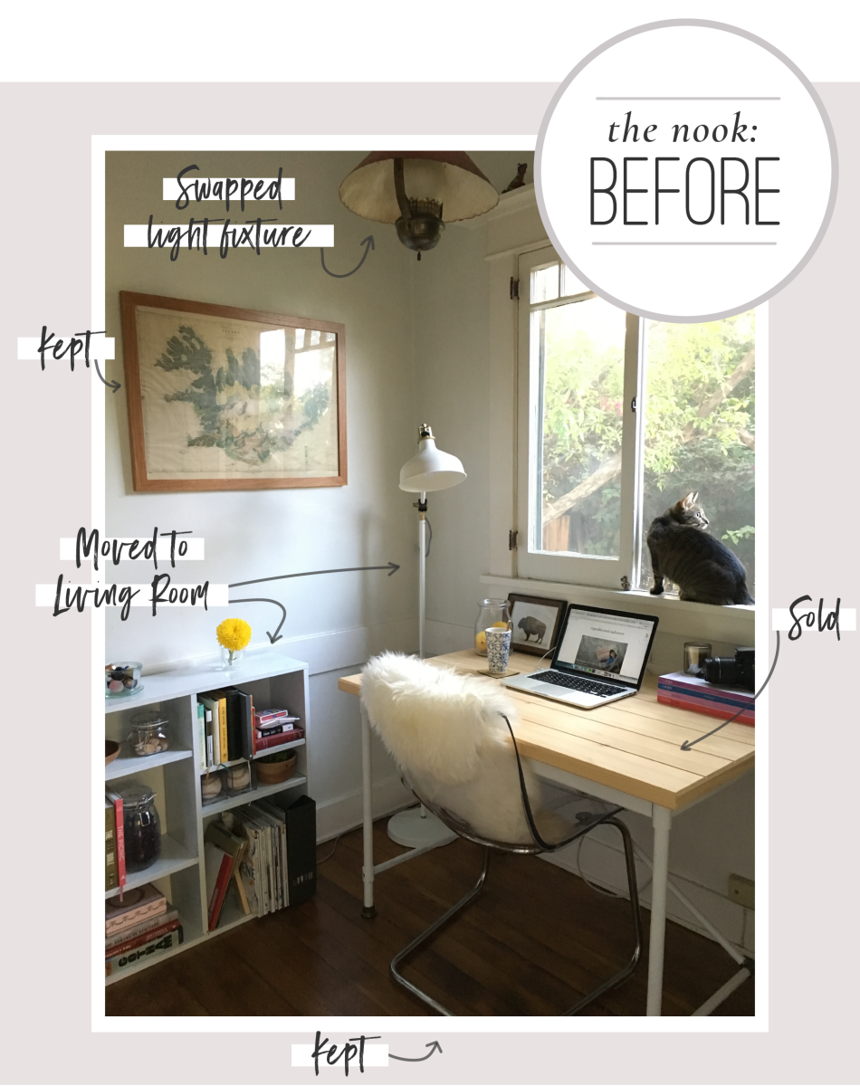 6 Tips for Creating a Cozy Breakfast Nook Graphics_Before Nook