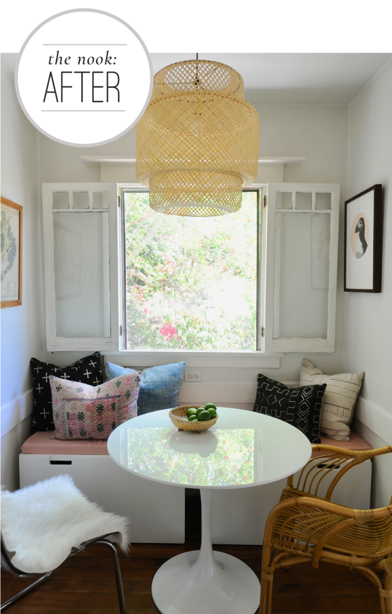 6 Tips for Creating a Cozy Breakfast Nook Graphics_After Nook