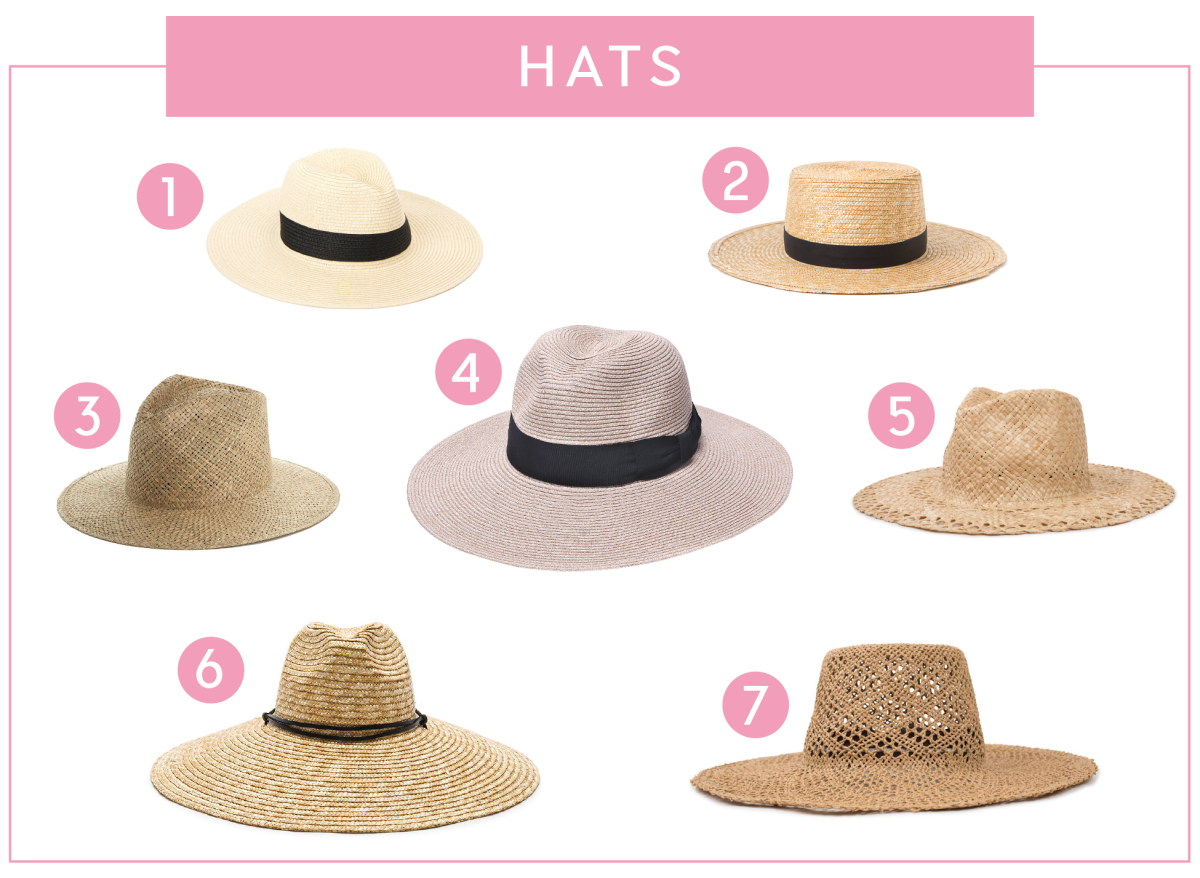 The Summer Essentials We're Loving This Season_Hats