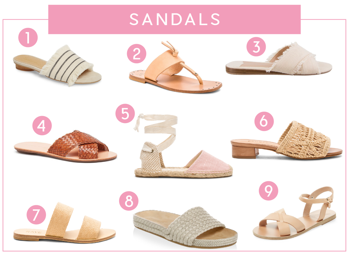 The Summer Essentials We're Loving This Season_Sandals