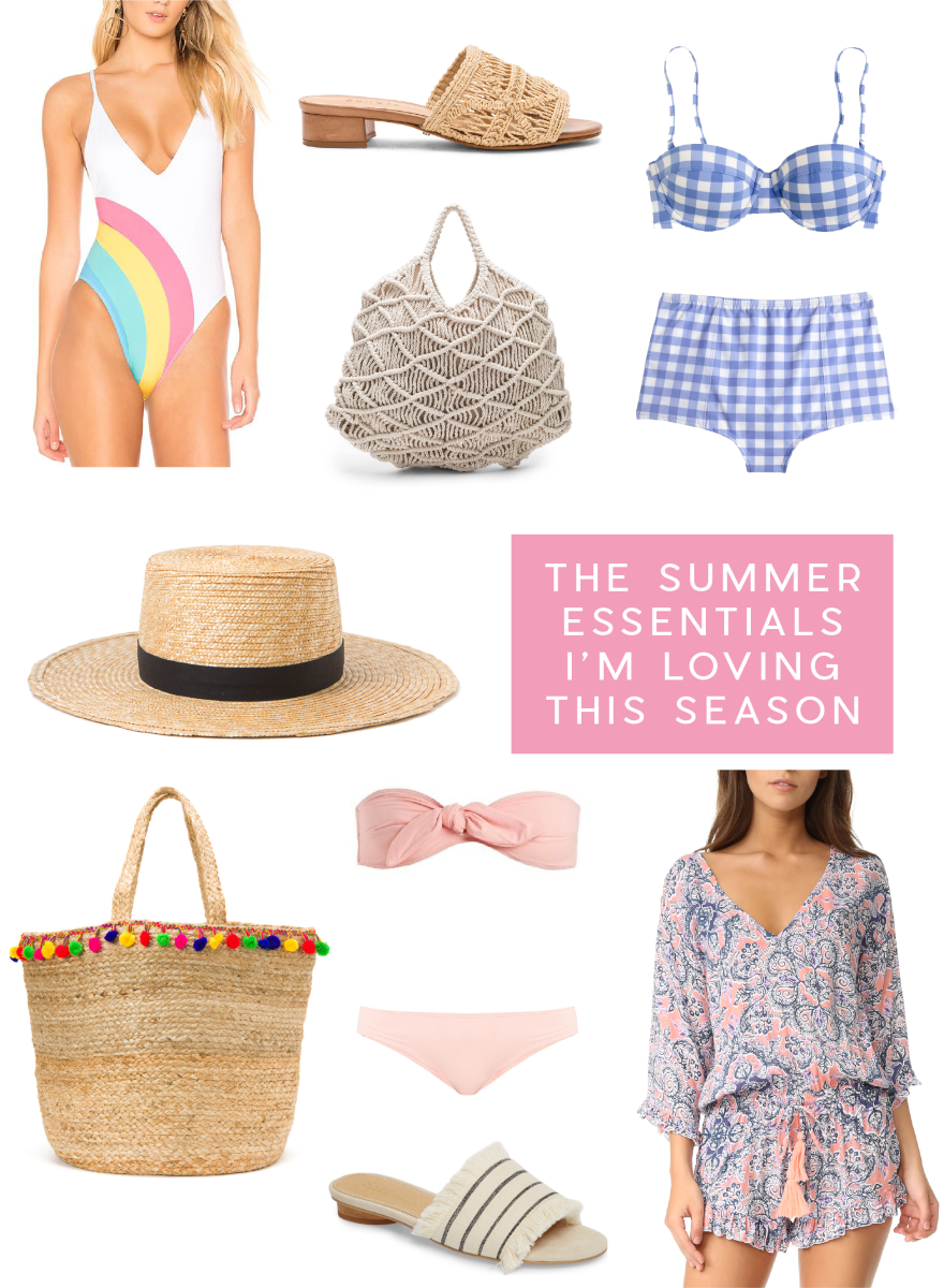 The Summer Essentials We're Loving This Season_Promo