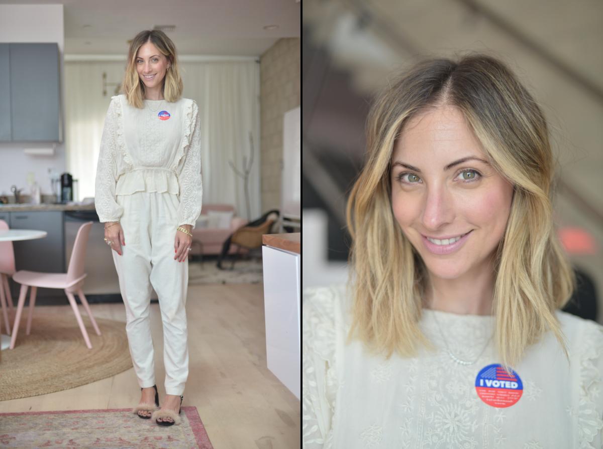 Tuesday: LoveShackFancy Blouse (similar here), Heidi Merrick Pants(more affordable version here), Zara shoes (similar here)