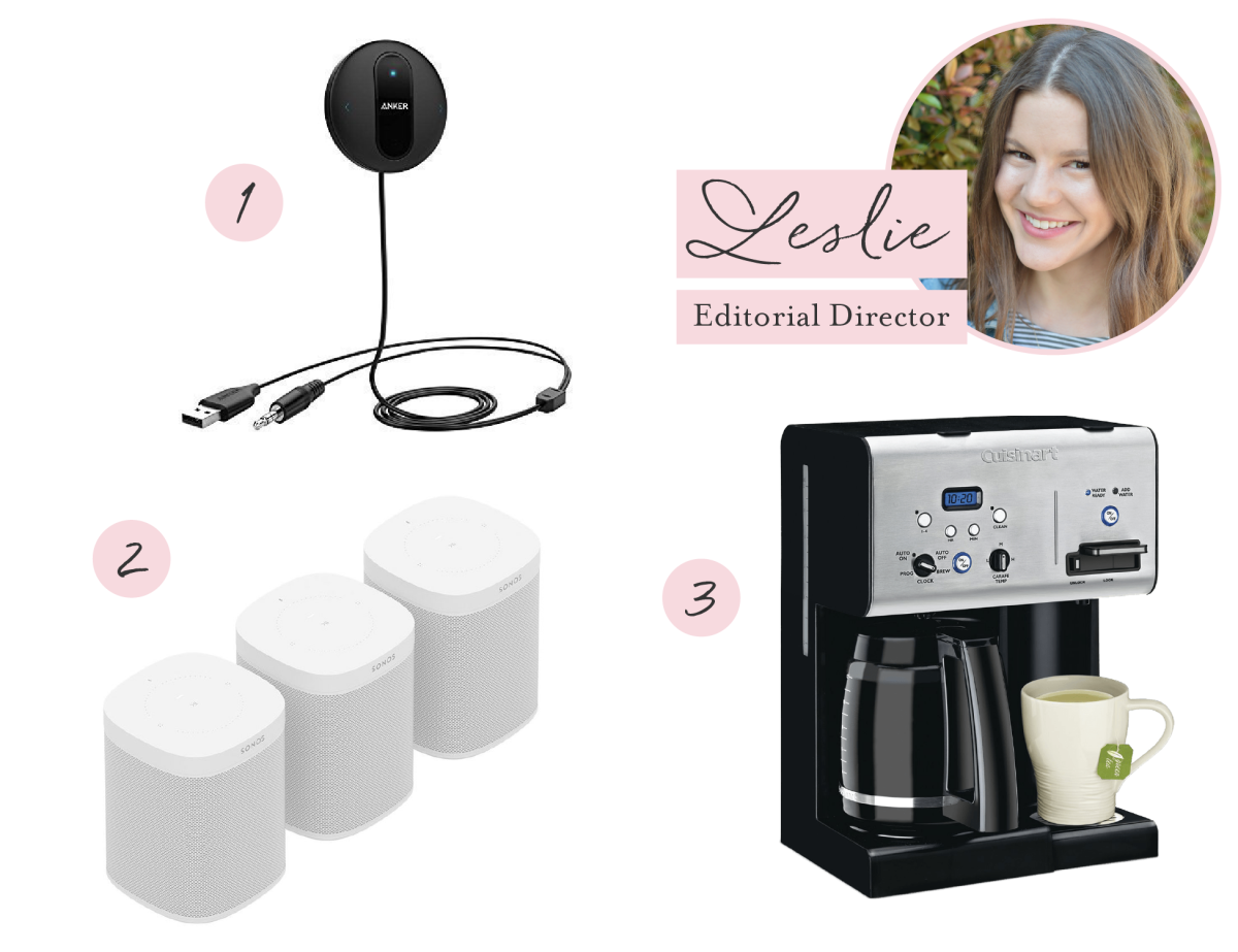The 3 Things Each of our Editors Can't Live Without_Leslie