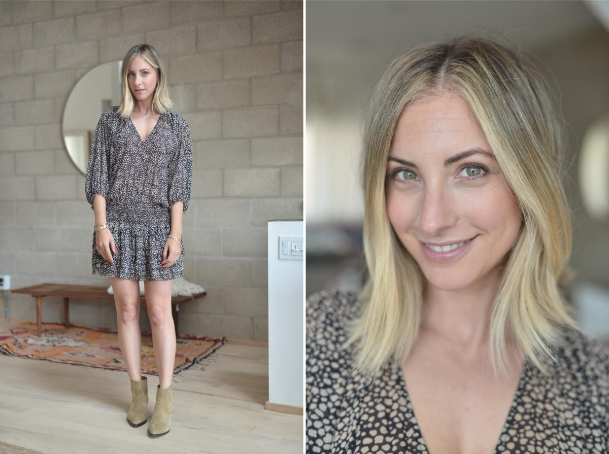 Monday: Ulla Johnson Dress (similar version here), Isabel Marant Booties (similar version here)