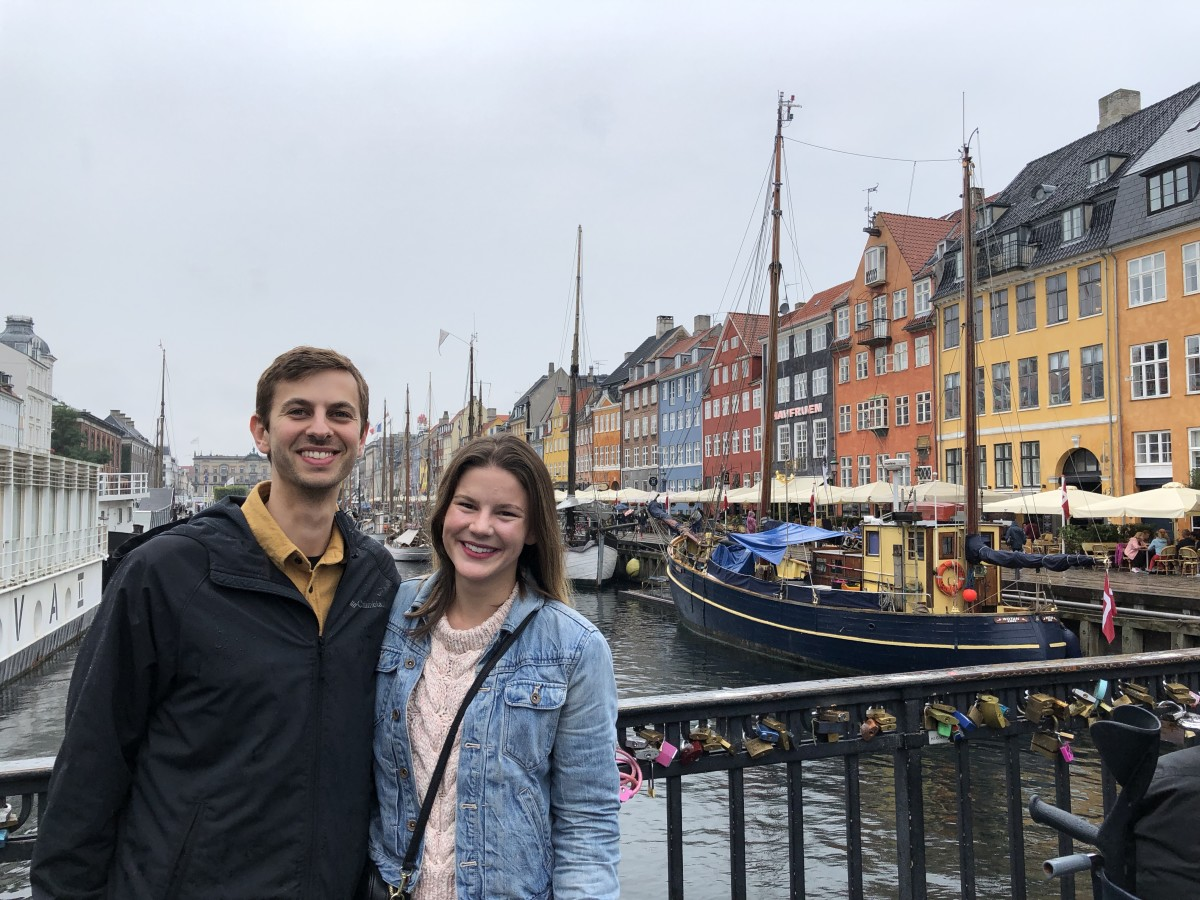 Necessary tourist photo at Nyhavn