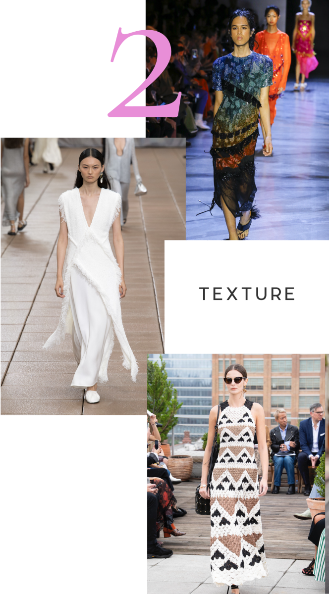Clockwise from top: Prabal Gurung, Oscar De La Renta, Phillip Lim