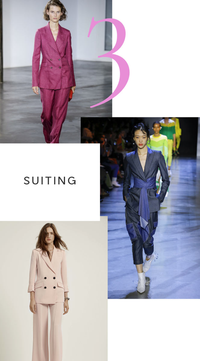 Clockwise from top: Gabriela Hearst, Prabal Gurung, Diane von Furstenberg
