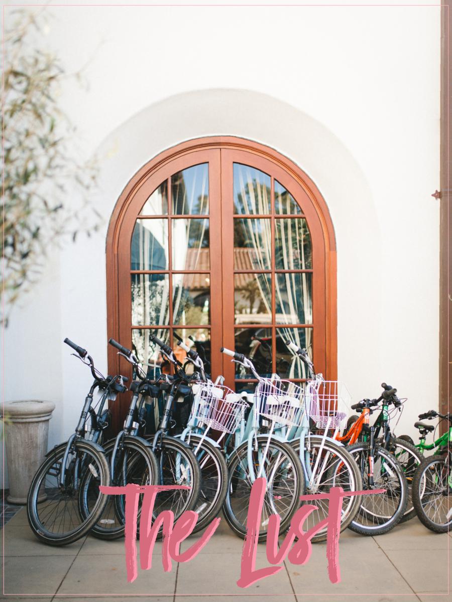 Bikes in Santa Barbara