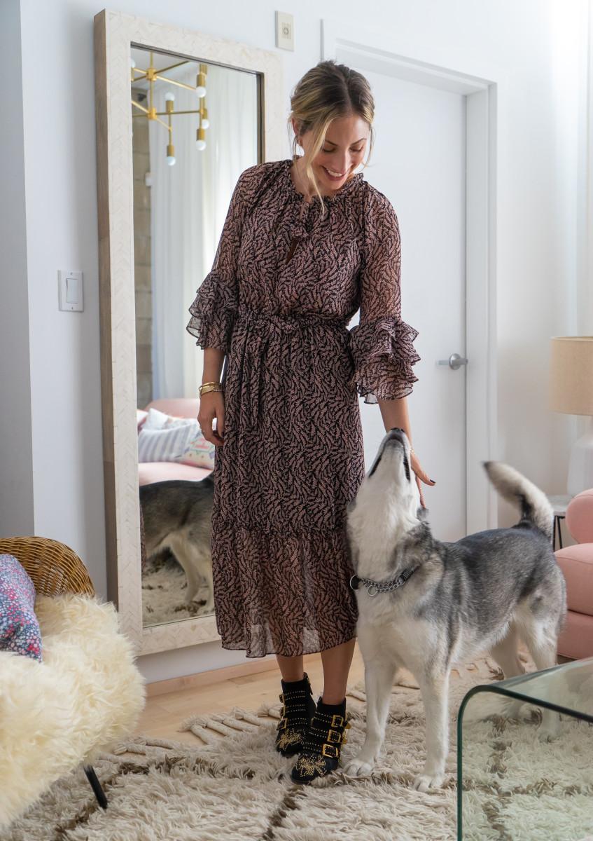 Thursday: MISA Dress, Chloe Boots