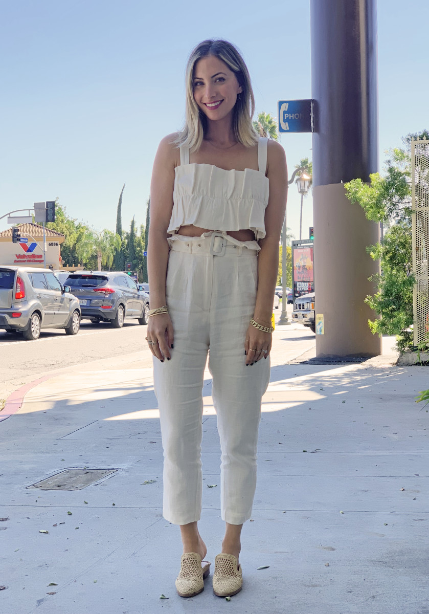 Monday: Steele Top & Pants(on sale!), Clergerie Flats (similar version here)