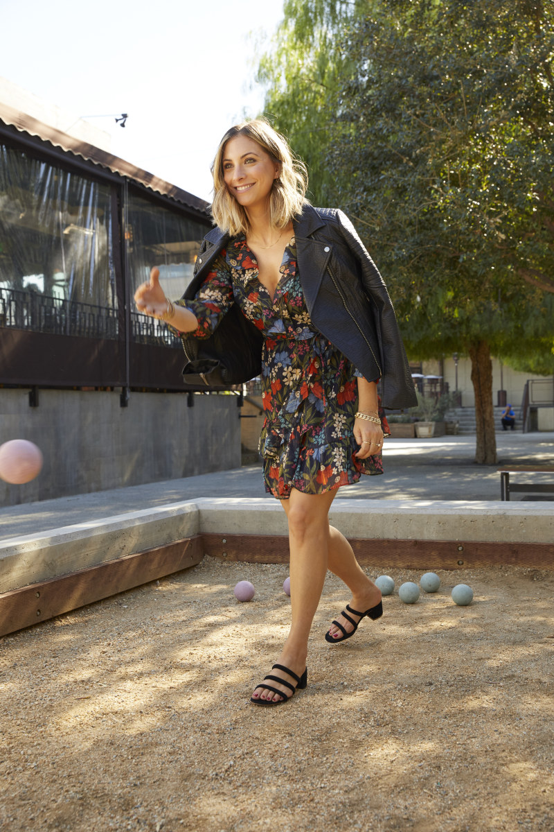 Cupcakes and Cashmere Jacket (similar here), Cheyenne Dress, Charlotte Stone Shoes