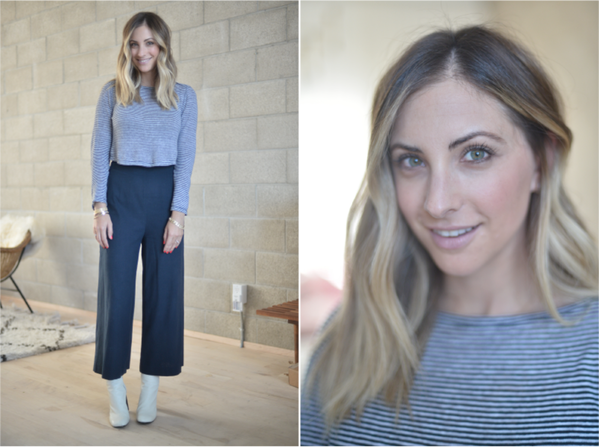 Thursday: ALC Top (similar here), Steven Alan Pants (same brand here), Rag & Bone Booties (affordable option here)