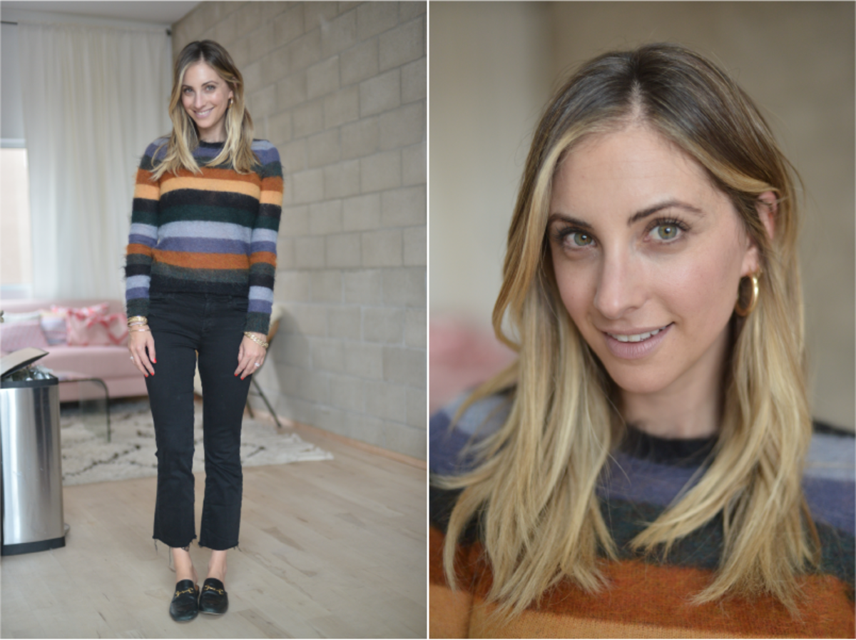 Monday: Etoile by Isabel Marant Sweater (similar here), J Brand Jeans, Gucci Loafers (similar here)