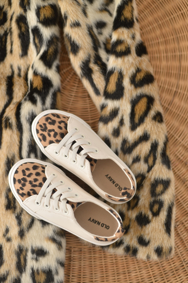 {Sloan and I are leaning into leopard this season}