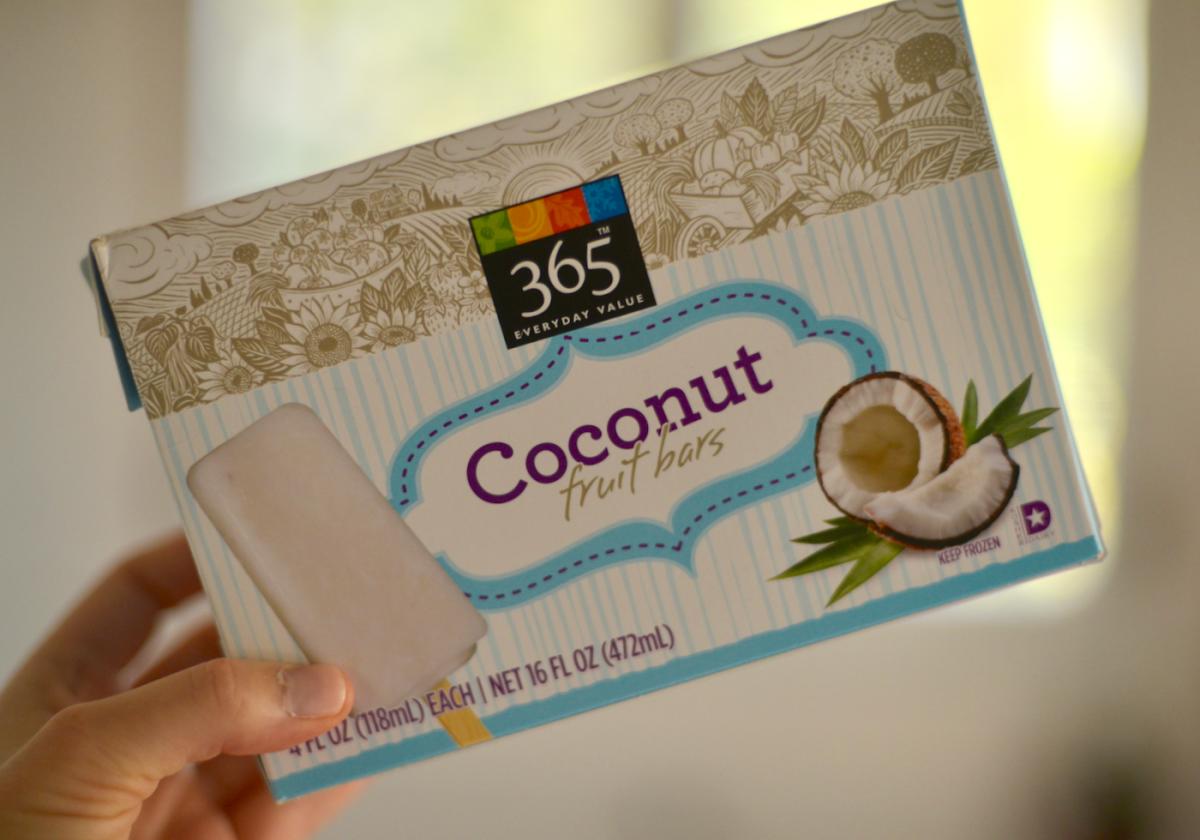 Coconut Fruit bars