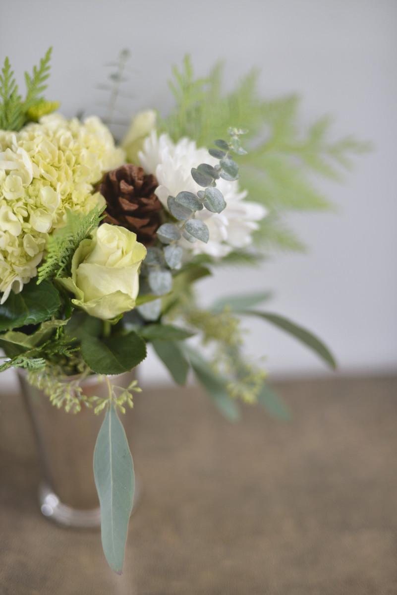 {Festive florals}