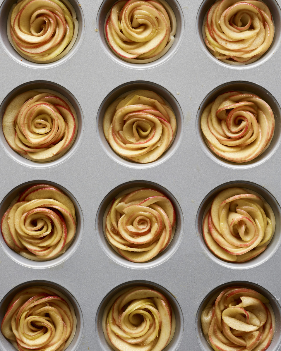 CC :: Mini Apple Rose Pies 3