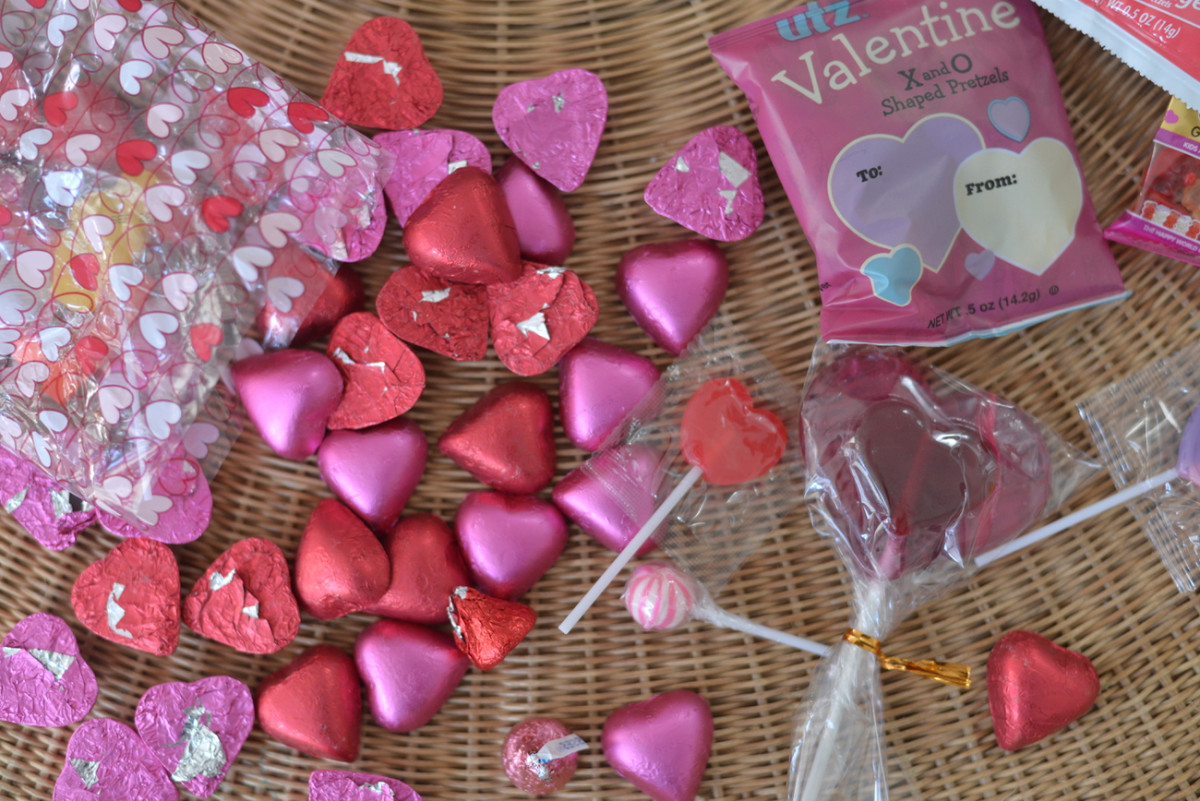 {Our Valentine's Day haul}