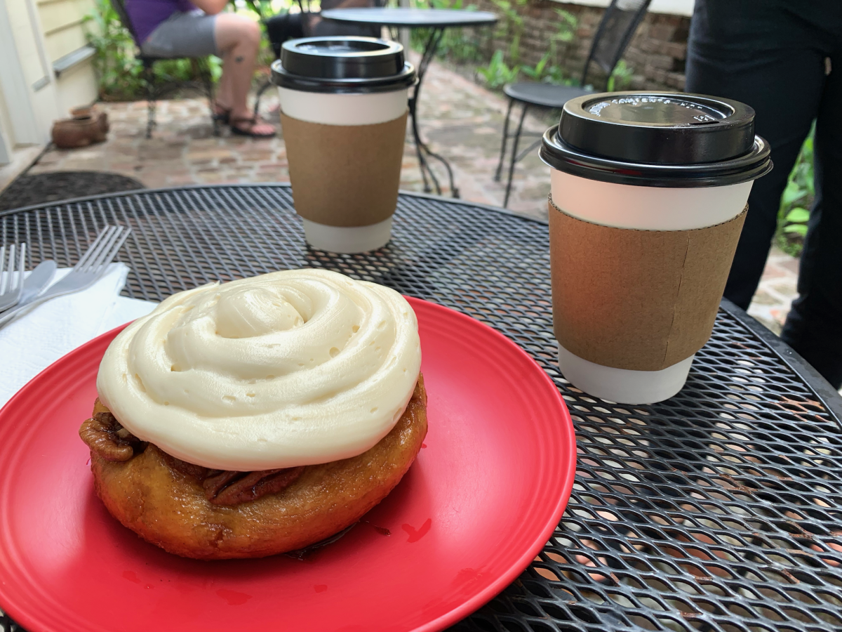 The cinnamon roll at Wildflour