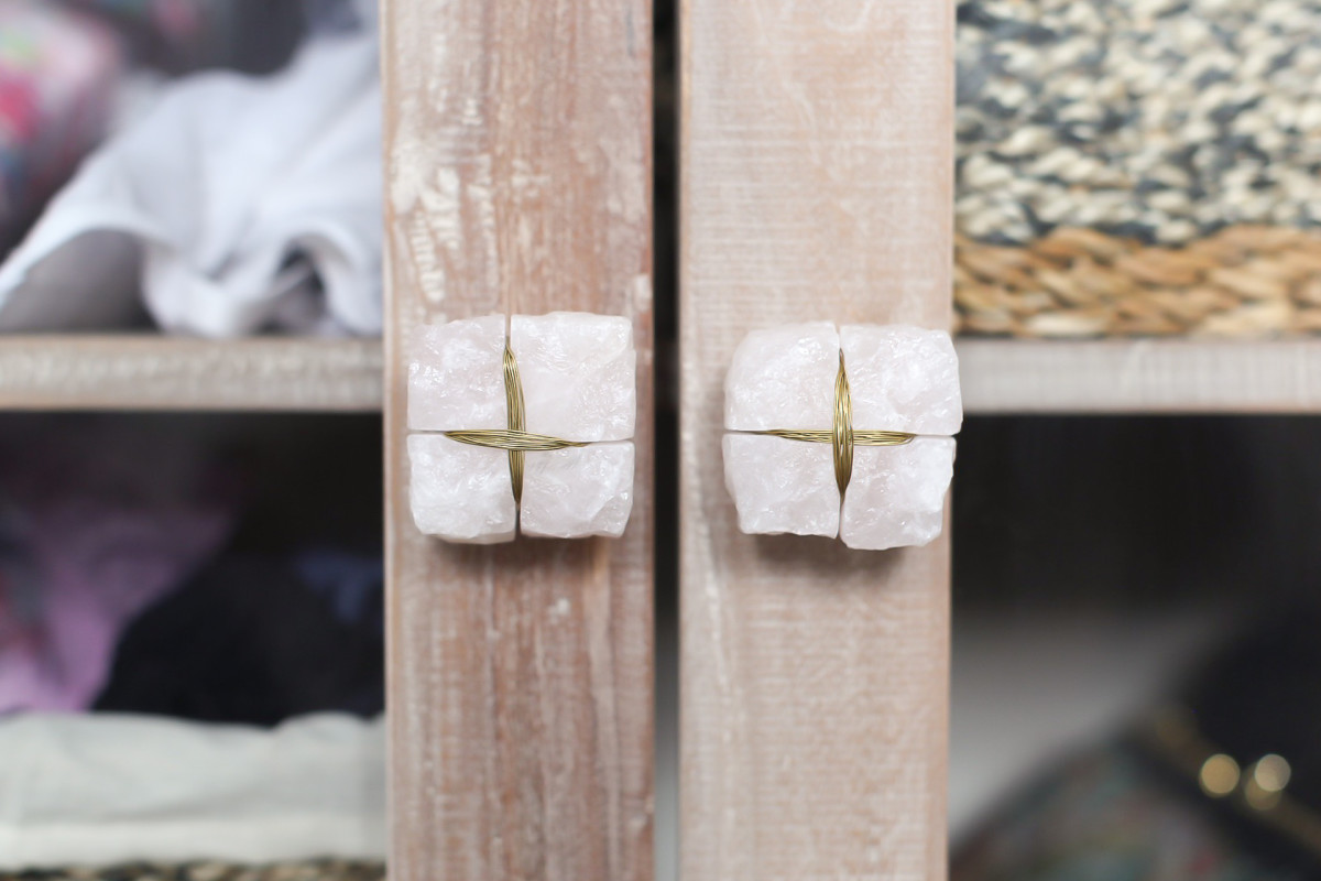 Anthropologie knobs spruce up any furniture!