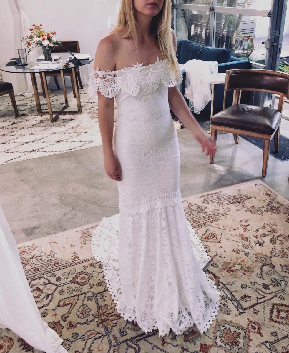 "Dress #5 at Grace Loves Lace, the ""Cien"" dress."