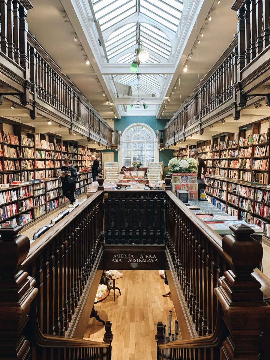 Daunt Books looks like it came straight out of Harry Potter.