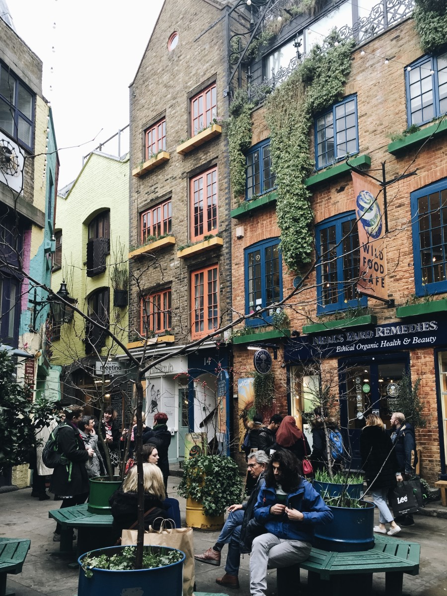 The colorful Neal's Yard certainly sparks joy.