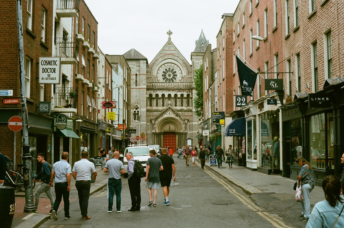 Views off Grafton Street