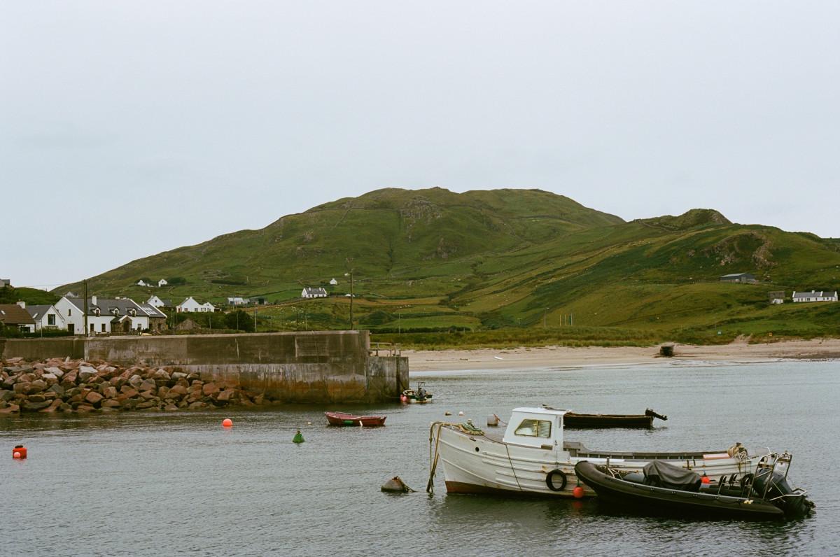 Clare Island docks