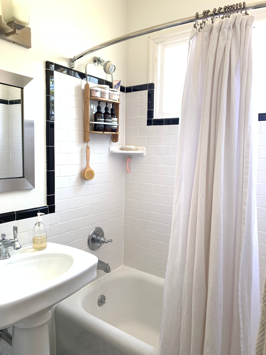 shower curtains for small bathrooms - the best image of curtain