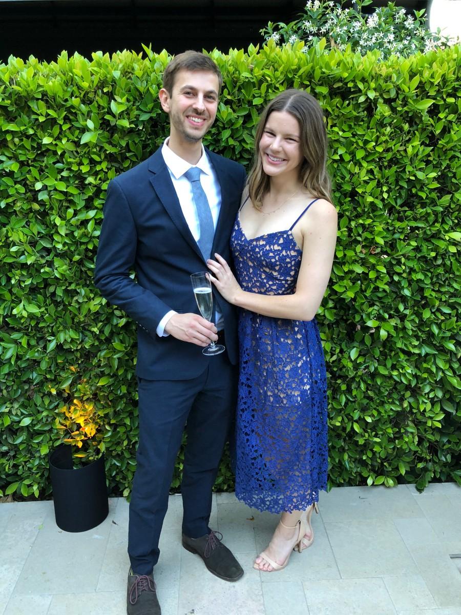 Même robe, mais mariage différent (avant d'apprendre que je ne peux pas faire de talons hauts lors des mariages)
