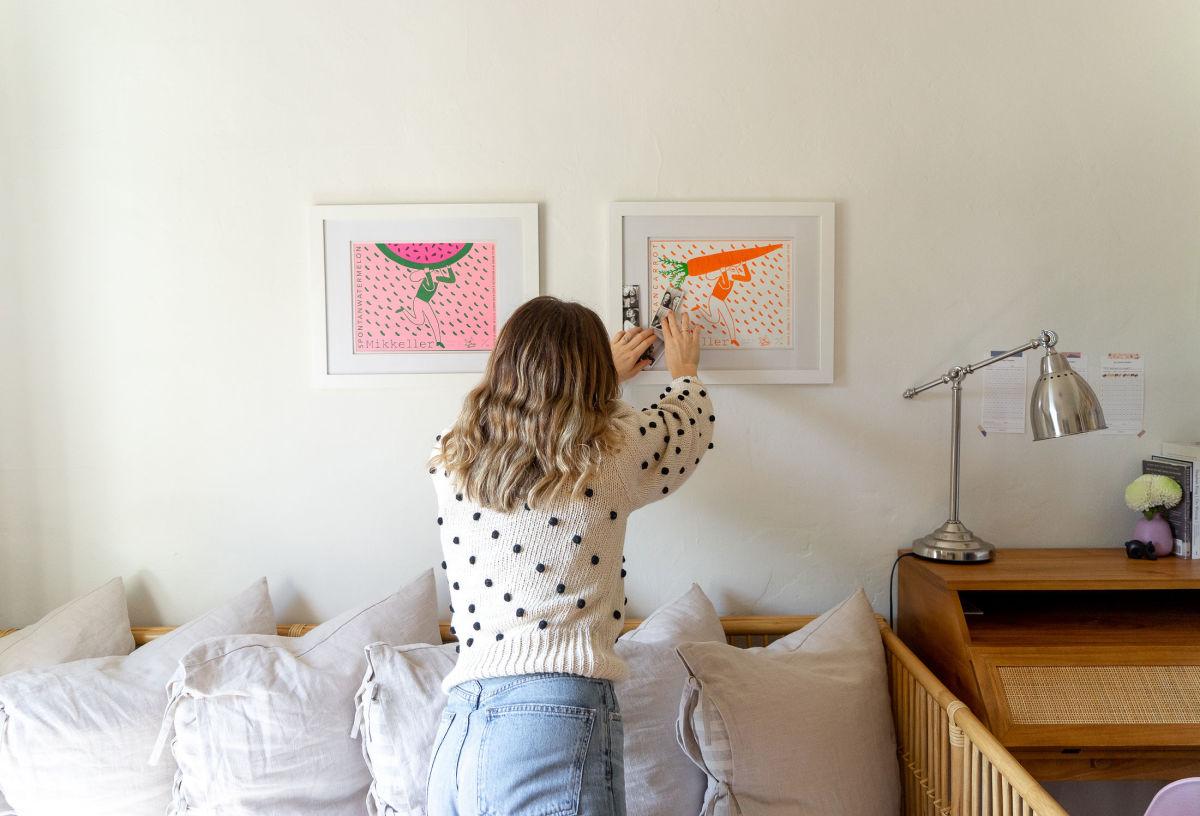 Mikkeller Prints,IKEA Pillows