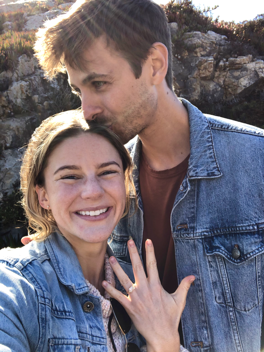 The Full Story Behind Leslie and Jonah's Big Sur Engagement