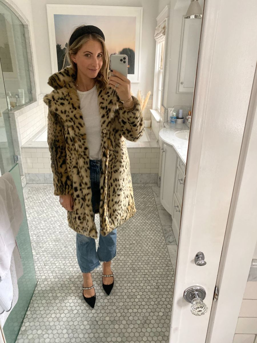Thursday: Shop Headband (coming soon!), Cupcakes and Cashmere Coat, The Great Shirt, Citizens of Humanity Jeans, Prada Pumps (affordable version here)