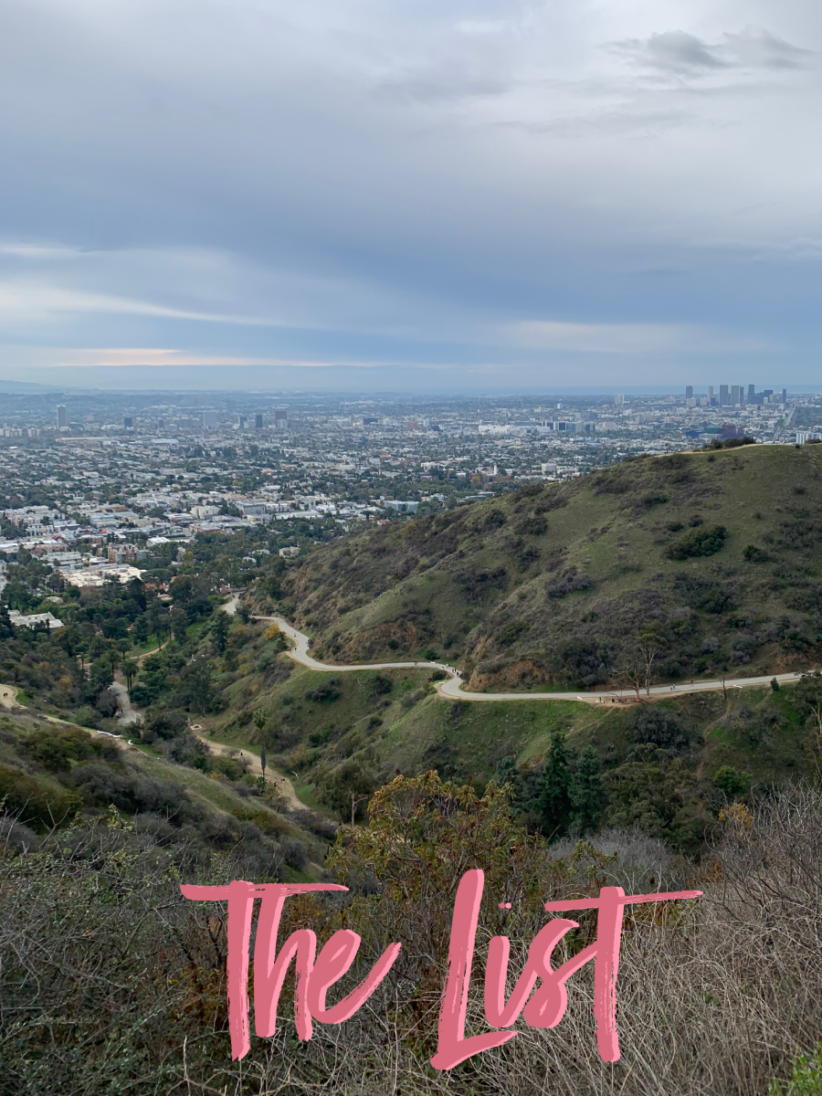 From a hike up Runyon