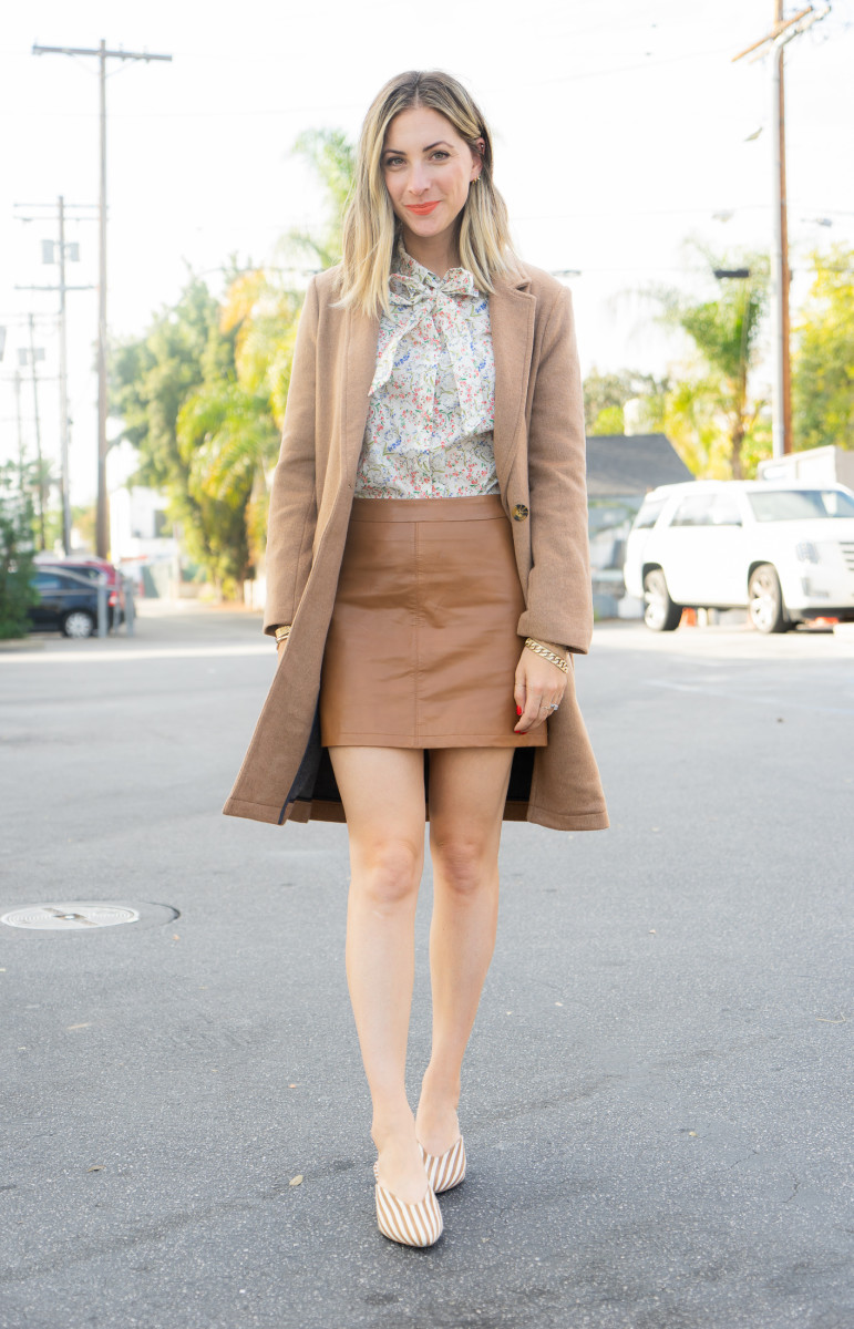 Wednesday: Sézane Shirt (similar version here), Cupcakes and Cashmere Skirt, Loeffler Randall Shoes