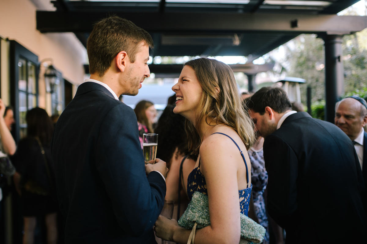 Using the clutch, at a recent friend's wedding